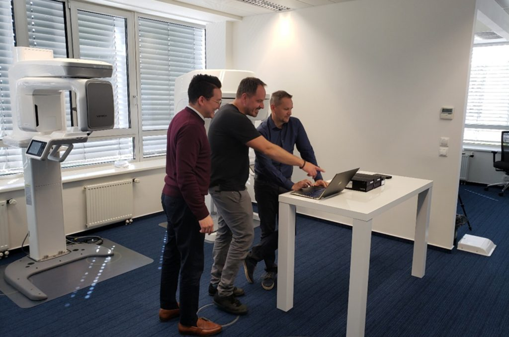 Customer Support Training at Vatech Europe